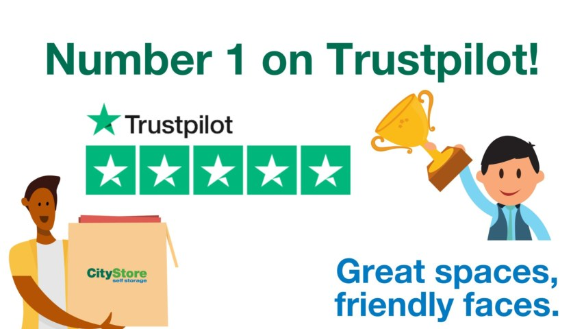 Citystore are number 1 on Trustpilot